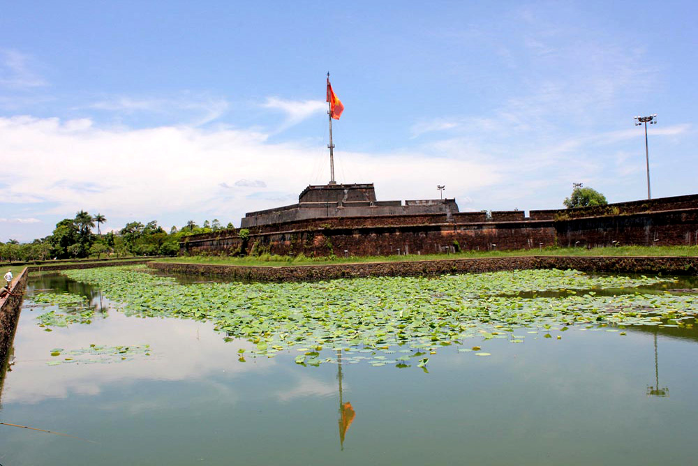 Hue - Citadel Panorama from outside
