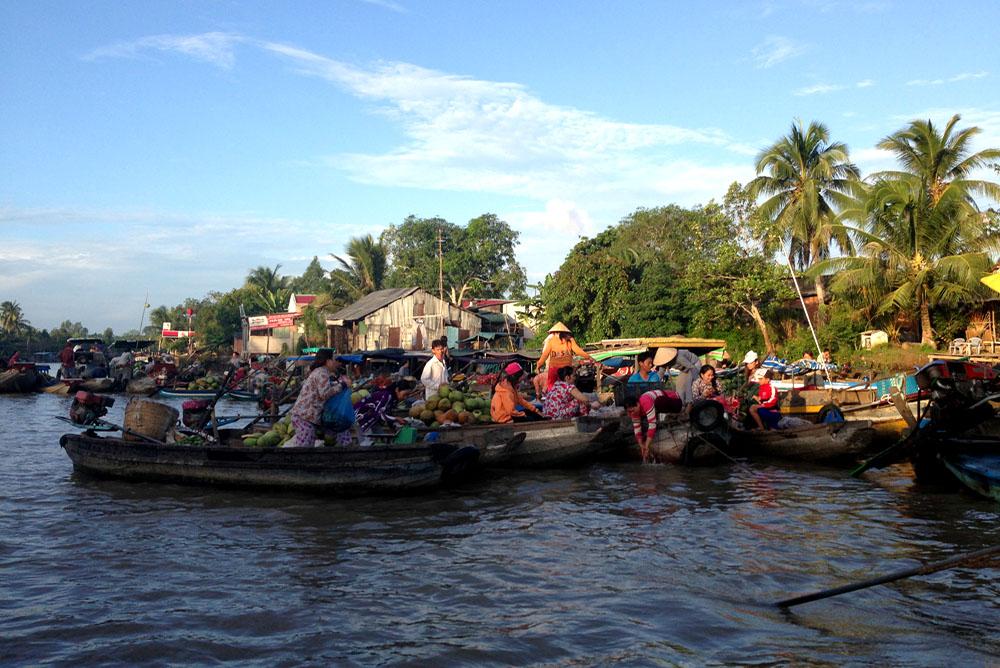 Floating Market - Cantho City