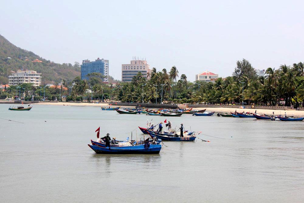 Vung Tau - Front Beach Fishing Port