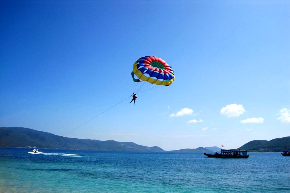 Nhatrang - Mini white sand Island